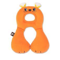 Benbat Travel Friends Headrest for Car, Stroller & Plane (Orange Mouse) - 1-4 Years