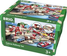 BRIO Deluxe Railway Set, 87 Pieces