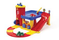 Viking Toys 2 Storey Garage With Tracks