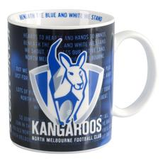 AFL Team Song Mug (North Melbourne)