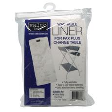 Valco Baby Washable Liner for Pax Plus Change Table, 2 Pack