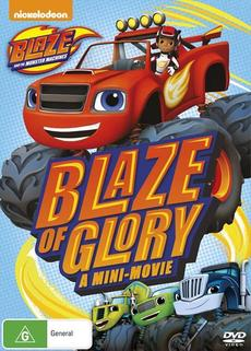 Blaze And The Monster Machines - Blaze Of Glory / The Driving Force