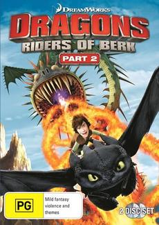 Dragons - Riders Of Berk : Part 2