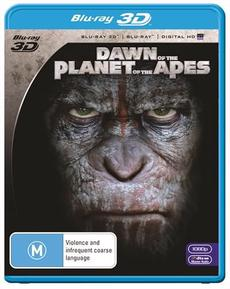 Dawn Of The Planet Of The Apes | 3D + 2D Blu-ray + UV