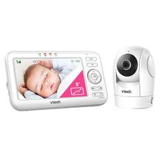 VTech Baby BM5500 Safe & Sound Tilt & Pan Video & Audio Baby Monitor