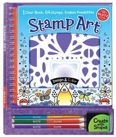 Stamp Art [With Colored Pencils and Stamp Designs]