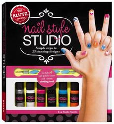 Nail Style Studio: Simple Steps to Painting 25 Stunning Designs [With 6 Bottles of Nail Polish, Custom Design Tool and 250 Stick-On Stencils]