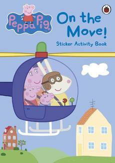 Peppa Pig: On the Move! Sticker Activity Book