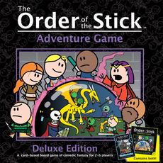 Ape Games Order of the Stick Adventure Game: The Dungeon of Durokan, Deluxe Edition