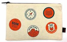 Reading Merit Badges Pencil Pouch