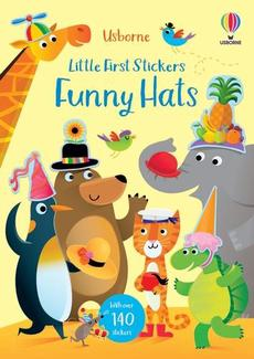 Little First Stickers Silly Hats