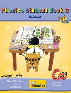 Jolly Phonics Student Book 2 (Colour in Print Letters)